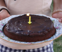 Gâteau gourmand chocolat-courgette